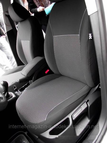 Авточехлы салона Dacia (Дачиа) тканевые.