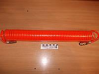 Шланг спиральный с БРС (пневматический) 10 м.