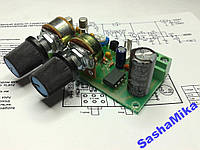 Фильтр сабвуфера с питанием +12В (Авто) на TL072