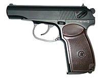 Пистолет KWC PM (пистолет Макарова): 115 м/с, калибр 4,5 мм, 160х128х25 мм, рукоять пластик, 18 пуль
