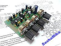 Регулятор тембра + микроф. усилитель LM1036+TL072