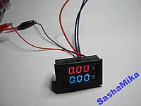 Цифровой вольтметр 100В + амперметр 10А, с шунтом (плавающая точка).