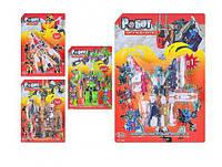 Трансформер 8013-05-13-L9058-L9128 робот+транспорт, 20см, 5 видов