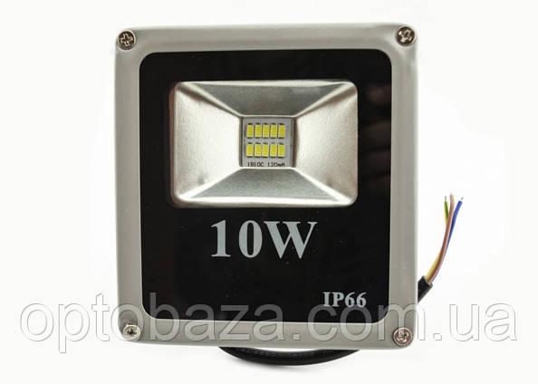 Светодиодный прожектор LED 10 Вт, Slim, SMD