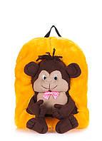 Детский рюкзак POOLPARTY с обезянкой