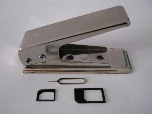 Резак для сим карт Nano SIM Cutter