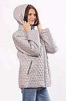 Женская демисезонная куртка  Murenna сталь 30-52 размеры