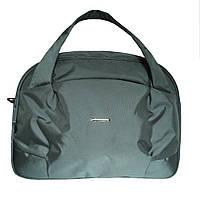Дорожная сумка-саквояж большая Dolly 231 серая, фото 1