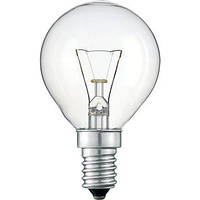 Лампа шарик 25W E14 230V P45 CL