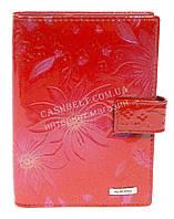 Стильная лаковая кожаная документница высокого качества H.VERDE art. HV-27 красный, фото 1