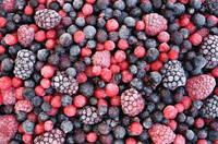 Плодово-ягодная смесь замороженная (клубника, слива,яблоко, черноплодная рябина)