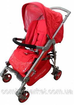 Детская прогулочная коляска Babylux Carita красная