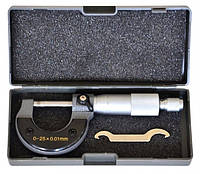 Мікрометр механічний,  0-25 мм
