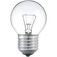 Лампа шарик 25W E27 230V P45 CL