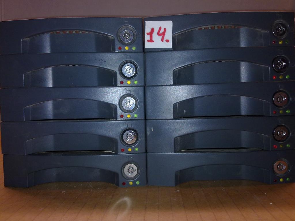 Мегалот 6 карманов для HDD