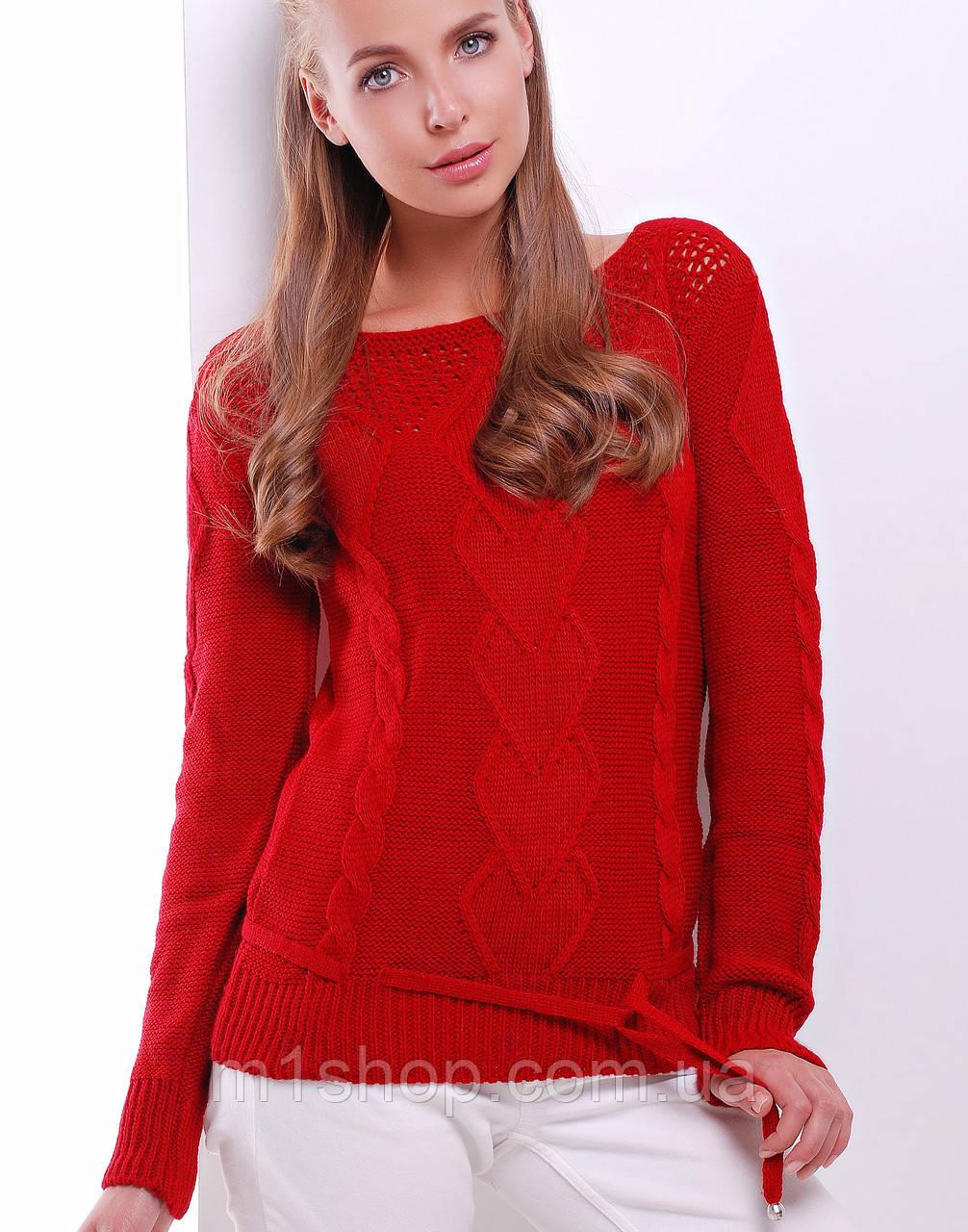 Женский свитер-кофта (22 mrs)