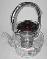 Заварочный чайник стеклянный, 1,2 л