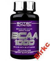SciTec Nutrition BCAA 1000 100 caps.