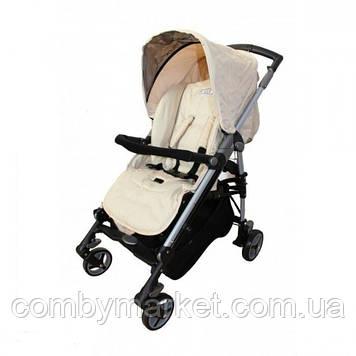 Детская прогулочная коляска Babylux Carita бежевая