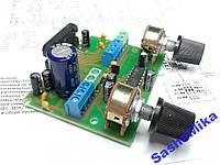 УНЧ с предусилителем и регуляторами громкости TDA7560, 4*50Вт