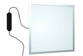 Панель LED встраиваемая 600х600мм 40Вт 4000K Алюминий OPTIMA