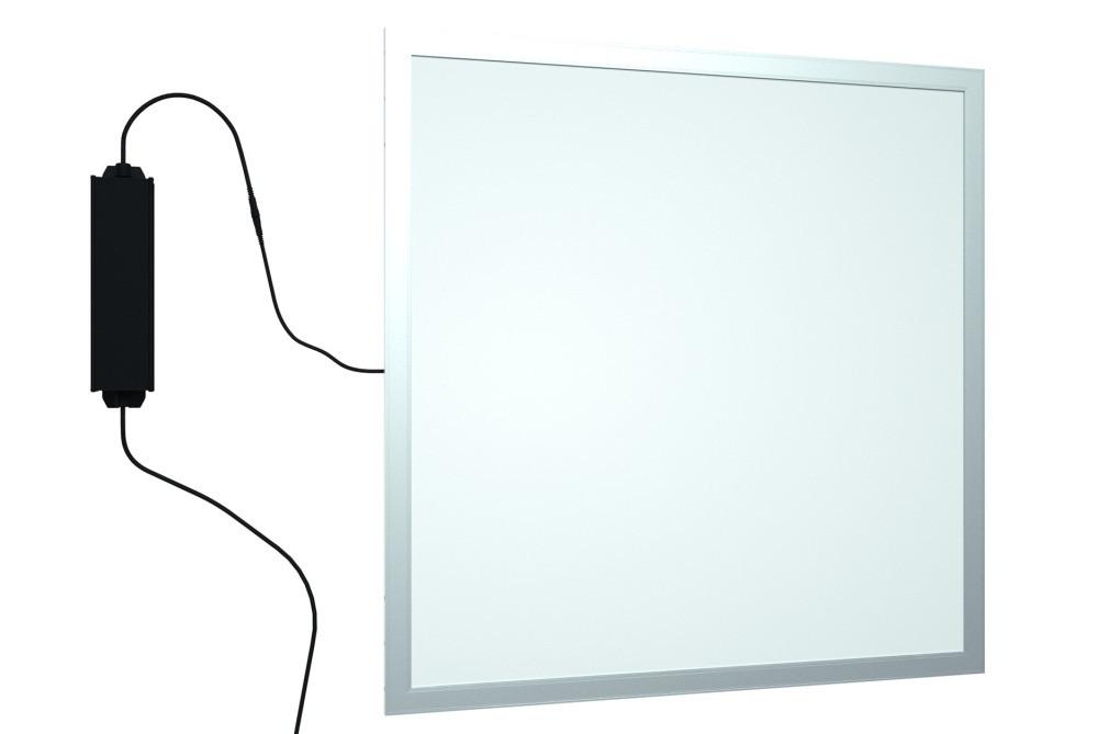 Панель LED встраиваемая 600х600мм 40Вт 4000K Алюминий OPTIMA - ЭЛЕКТРОПАРК в Днепре