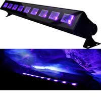 Ультрофиолетовый светодиодный прожектор нового поколения LED-UV - 9*3W