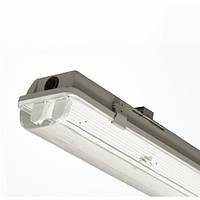 LED Светильник Влагозащищенный LUMEN под лампу Т8 2x1200мм IP65 (без ламп)