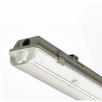 LED Светильник Влагозащищенный LUMEN под лампу Т8 2x600мм IP65 (без ламп)