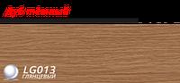 Плинтус напольный 58 мм Lineplast l013 дуб темный