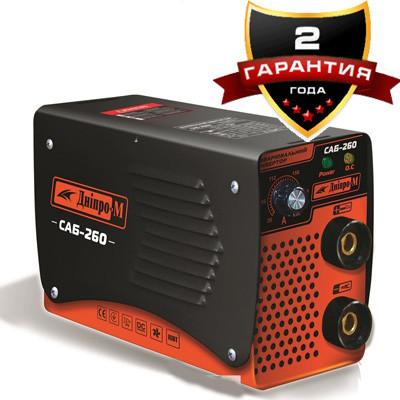 Сварочный инвертор Днипро-М САБ-260