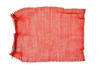 Сетка-мешок для упаковки овощей с завязкой, красная, 45х75 см, до 30 кг (69-226) шт.