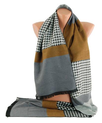Стильный теплый мужской шарф Traum 2492-23