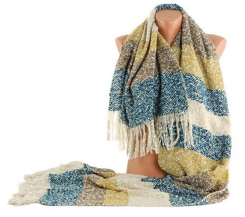 Оригинальный теплый женский шарф Traum 2483-27