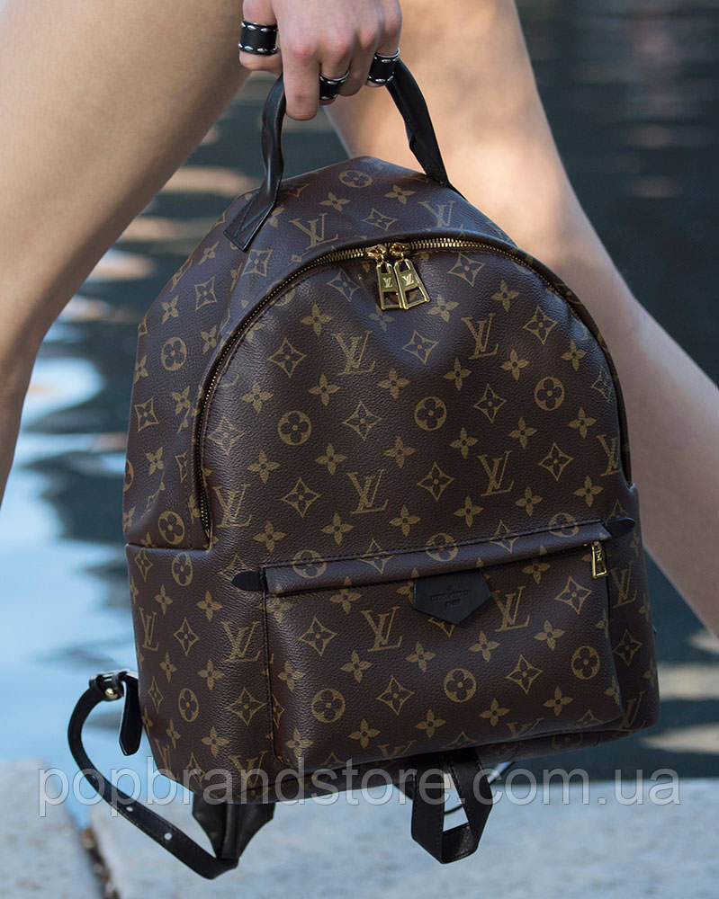 42e4dc380eed Крутой женский рюкзак LOUIS VUITTON PALM SPRING большой LUX (реплика) - Pop  Brand Store