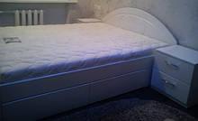 Ліжко з плівкового МДФ під замовлення