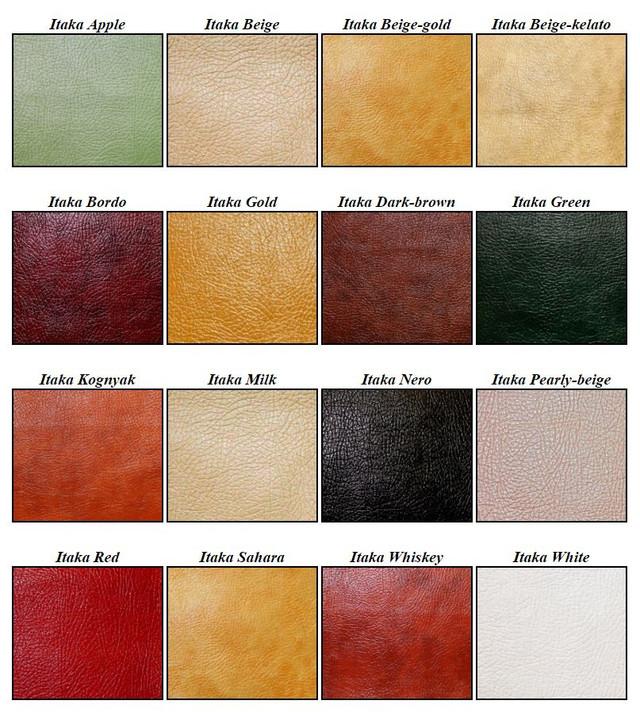 Мебельная ткань кожзам Itaka