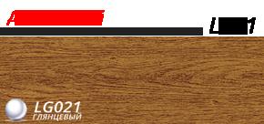 Плинтус напольный 58 мм Lineplast l021 дуб жженый