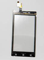Сенсорное  Стекло  Sony-Ericsson ST26, Xperia J черное original.