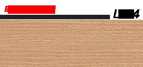 Плинтус напольный 58 мм Lineplast l024 бук светлый