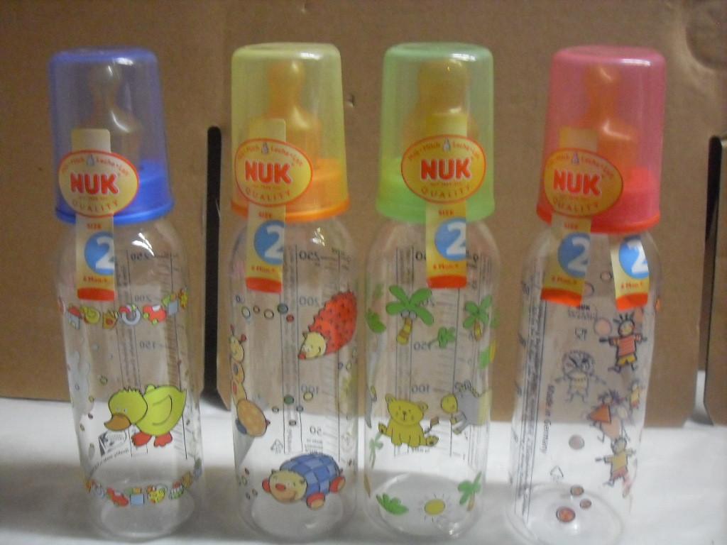 NUK 10216021 - PC бутылка 250 мл