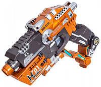 Пистолет-трансформер 2 в 1 FLASHER (6 мягких пуль, блистер), RoboGun (K01)