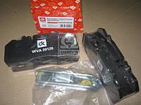 Колодка тормозная дисковая (компл. на ось) SAF 19,5 SKRB INTEGRAL  (производство Дорожная карта ), код запчасти: DK 29126PRO