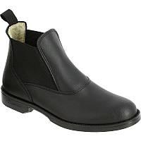 Сапоги женские, ботинки осенние Fouganza CLASSIC ONE черные
