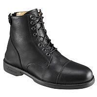 Ботинки женские, сапоги осенние Fouganza PADDOCK черные