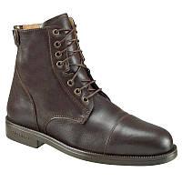 Ботинки женские, сапоги осенние Fouganza PADDOCK коричневые