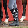 Резиновые сапоги женские, чоботи гумові Fouganza SCHOOLING 100 черные, фото 8