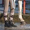 Резиновые сапоги женские, чоботи гумові Fouganza SCHOOLING 100 черные, фото 10