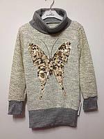 Детская одежда оптом Платье туника нарядная для девочек оптом р.6-13лет, фото 1