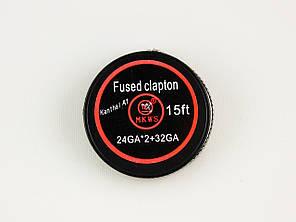 Намотка Fused Сlapton 2*0,5/0,2, фото 2